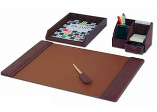 Quality leather desk set organizer manufacturers india - Desk set organizer ...